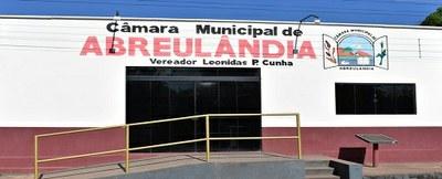 Sede da Câmara de Abreulândia