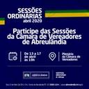 Sessões de Abril/2020