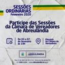 Sessões de Fevereiro/2020