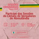 Sessões de Março-2020